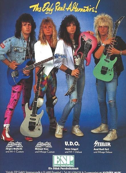 Musiker-Anzeige 1987