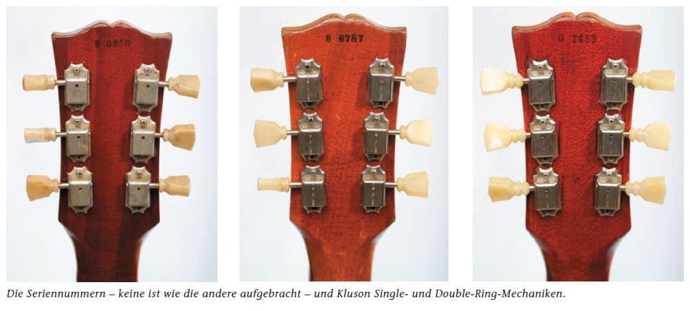 Gibson Seriennummern