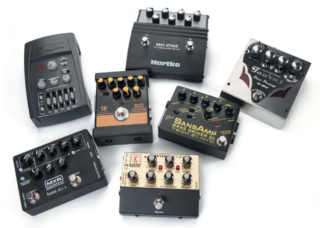 Sieben Bass-Preamps