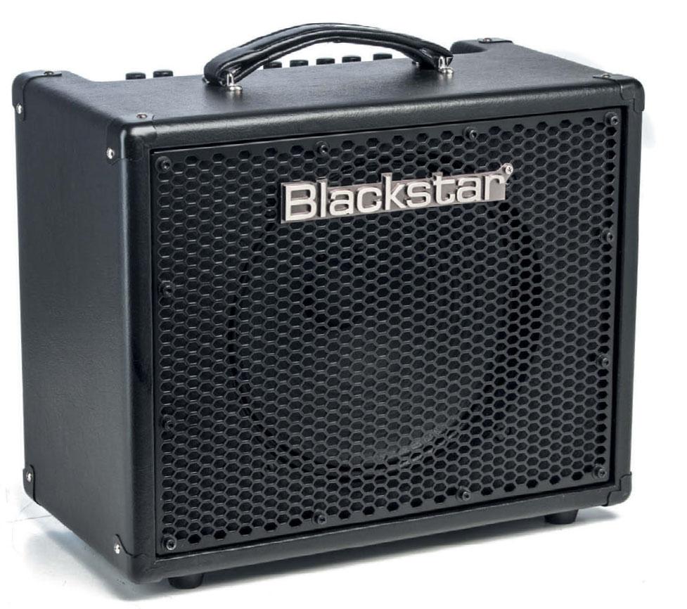 E-Gitarrenkofferverstärker von Blackstar, black like my metal but not my coffee