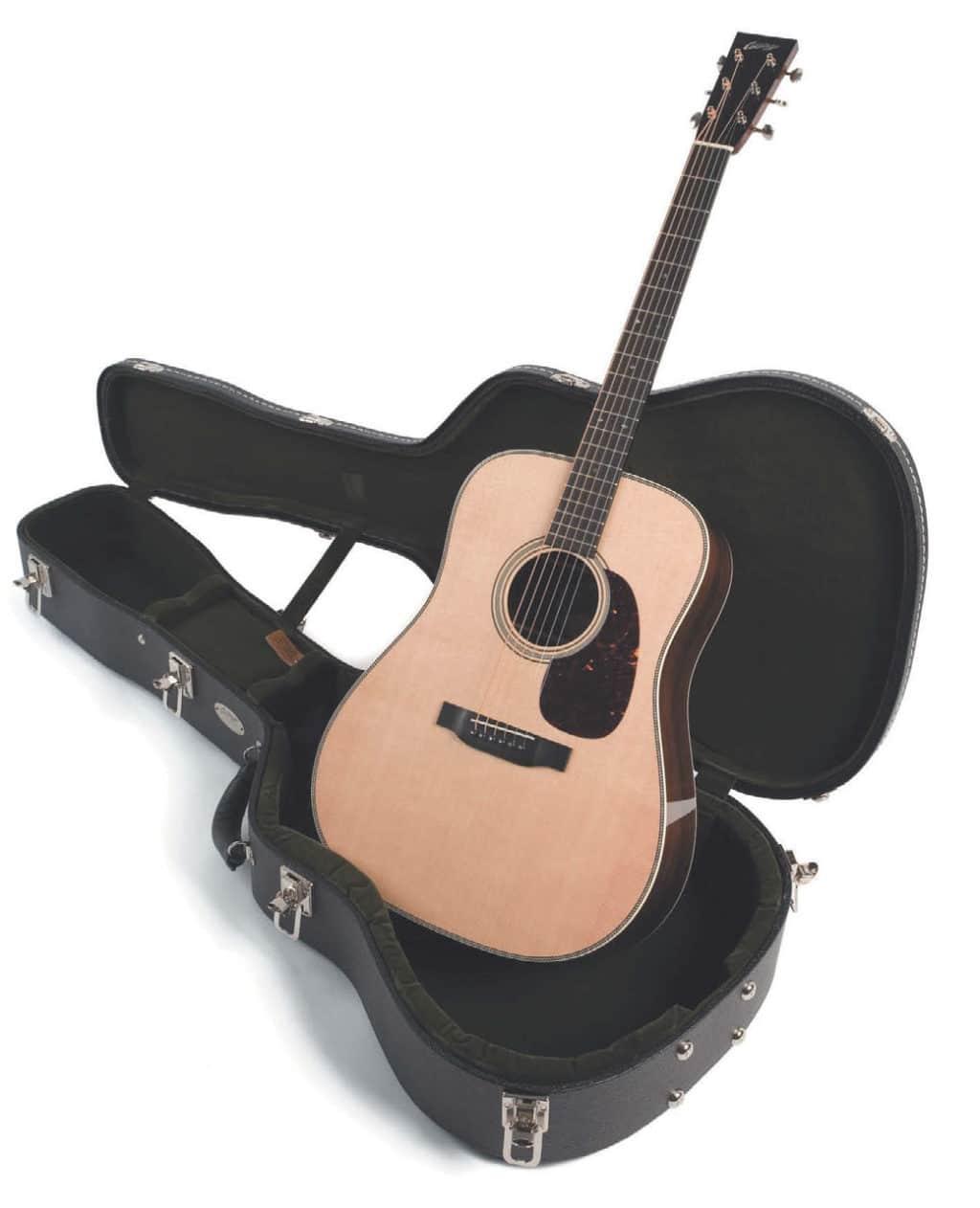 Westerngitarre und Koffer von Collings