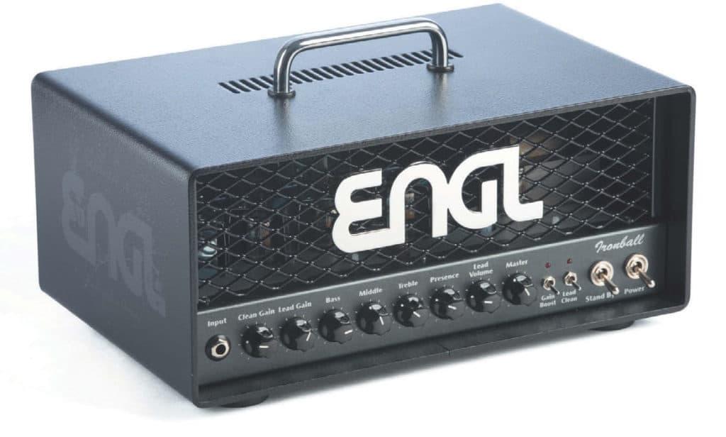 E-Gitarren-Verstärker, Topteil, von ENGL, schwarz