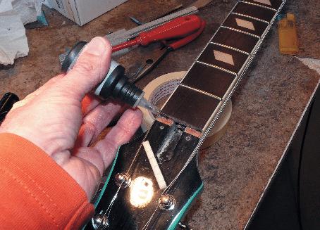 epiphone-sattel-festkleben