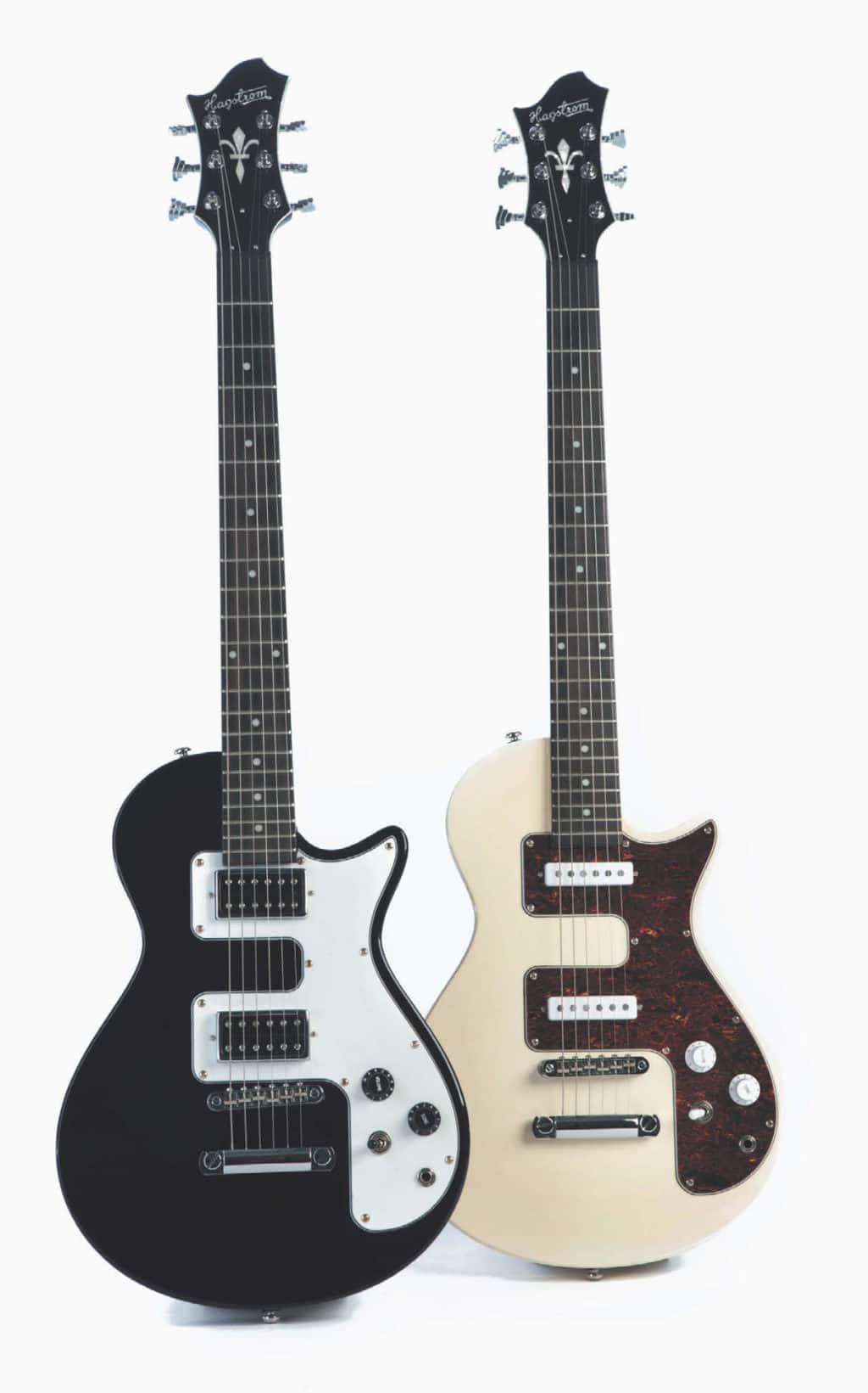 Zwei E-Gitarren von Hagstrom