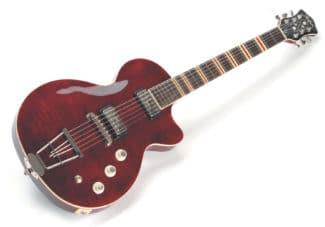 E-Gitarre im Vintage-Style von Höfner