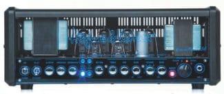 E-Gitarren-Verstärker, Topteil, von Hughes&Kettner, schwarz-blau