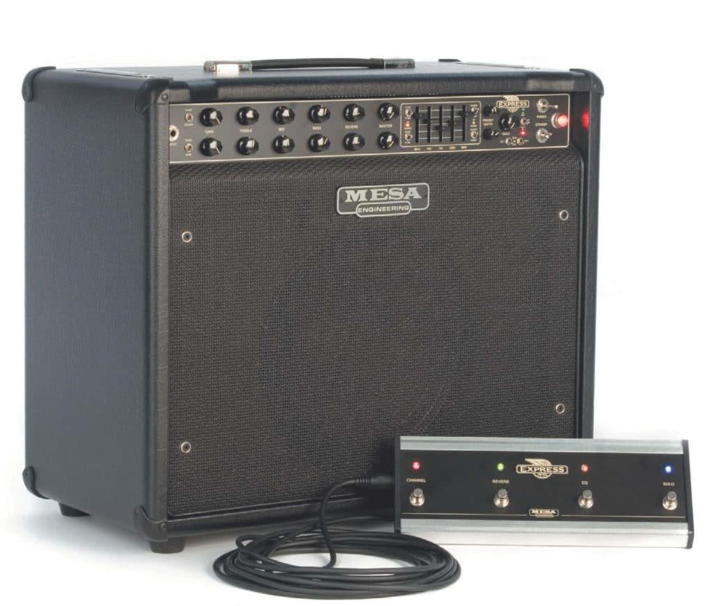 E-Gitarrenkofferverstärker mit Fußschalter von Mesa/Boogie