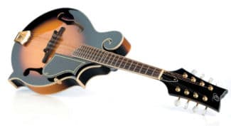 Mandoline von Ortega, liegend