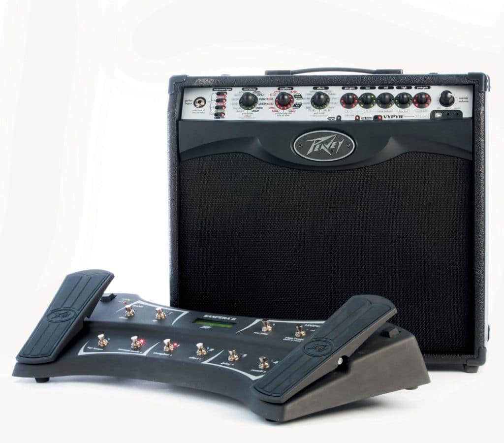 Modeling-Combo mit Pedalboard von Peavey