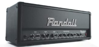 Topteil für E-Gitarre von Randall, schwarz