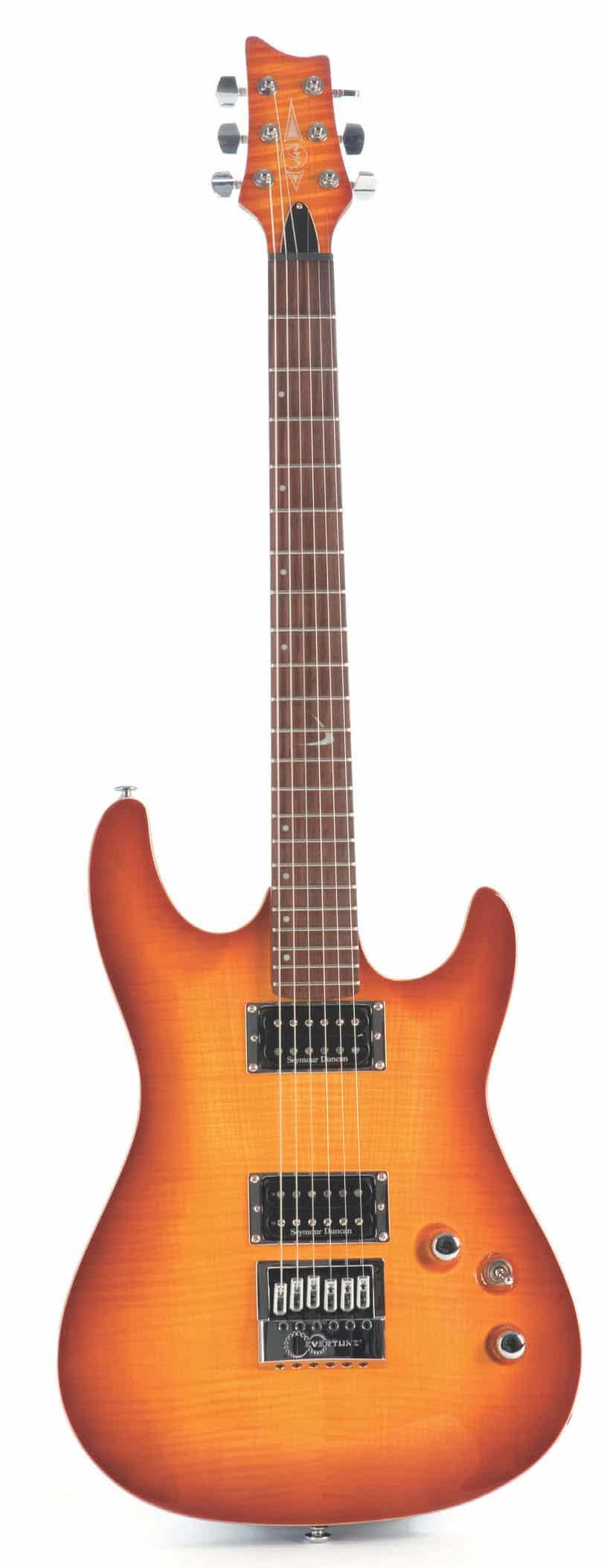 E-Gitarre von VGS. stehend