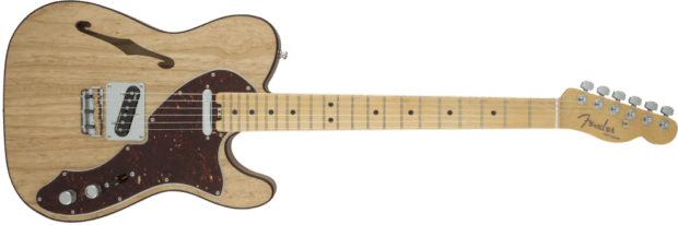 American Elite Telecaster Thinline in Natural