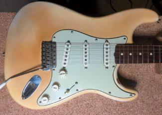 Körper der Fender Strarocaster