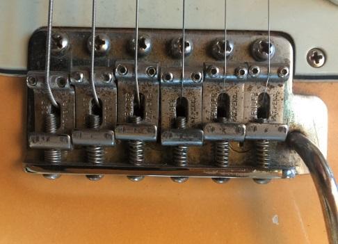 Vibrato der Fender Gitarre