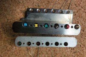 Callahams Stahlblock und Fender Guessblock