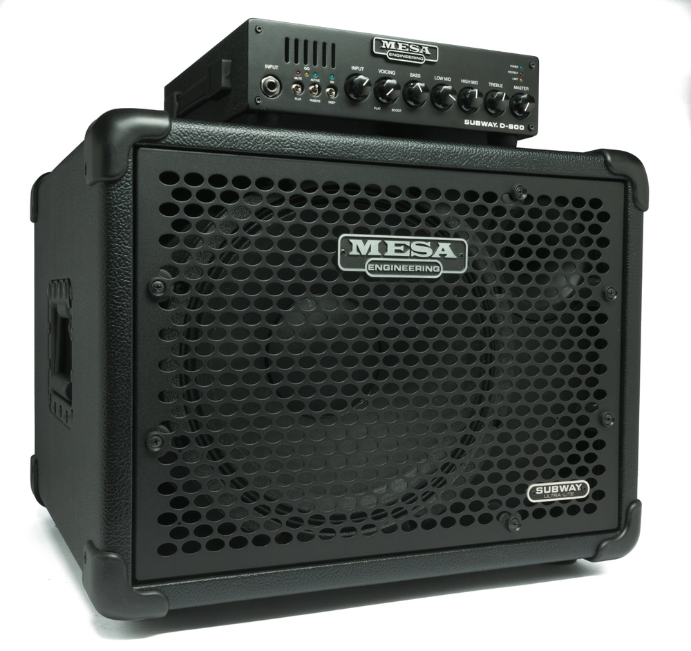 Mesa Subway D-800 und Ultra Lite 1x12 Bass (2)