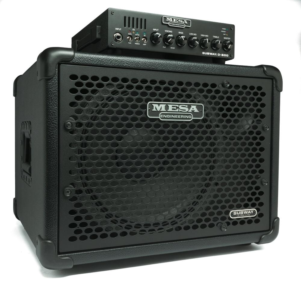 Mesa Subway D-800 und Ultra Lite 1x12 Bass (2)
