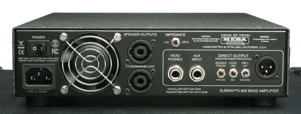 Mesa Subway D-800 und Ultra Lite 1x12 Bass
