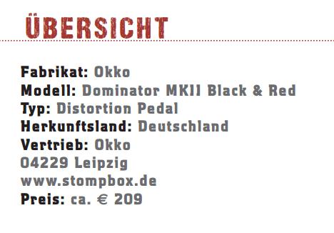 Okko Dominator MKII Black and Red_profil