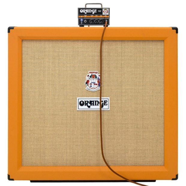 Orange Micro Dark Amp und Orange Box