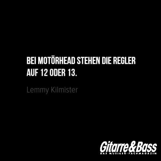Lemmy Kilmisters Beste Zitate Aphorismen Gitarre Bass