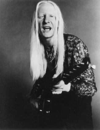 Johnny Winter ist seit 1988 in der Blues Hall of Fame