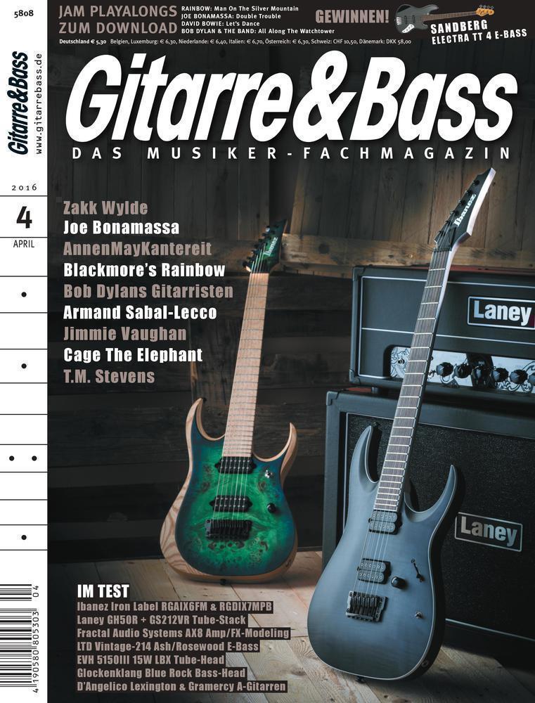 Gitarre & Bass 04.2016