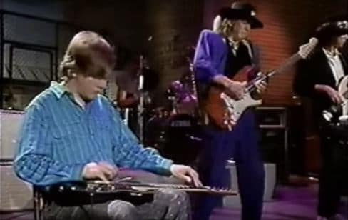 Jeff Healey and Steve Ray Vaughan