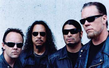 Metallica in aktueller Besetzung