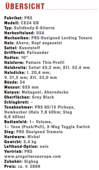 PRS CE24 GB_profil
