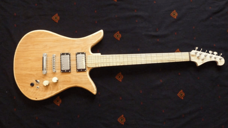Plywood Guitar