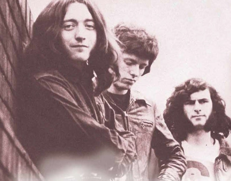 Rory Gallagher mit Band
