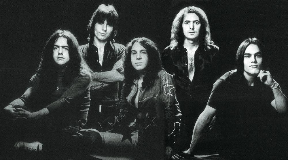 Die Erfolgsband Deep Purple in ihrer Originalbesetzung.