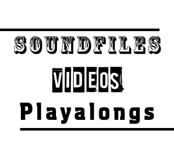 Soundfiles, Videos und Playalongs Gitarrebass