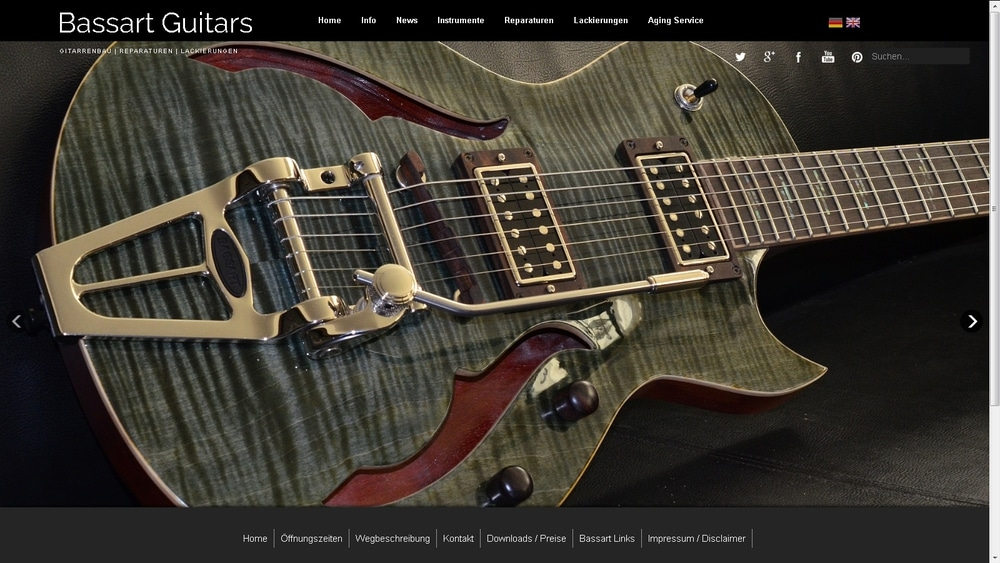 Bassart Website