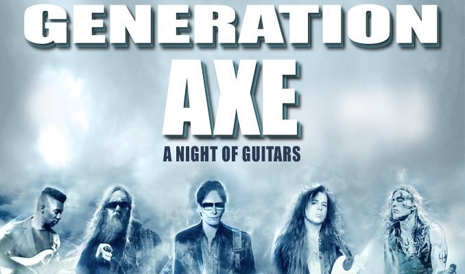 Generation Axe Tour
