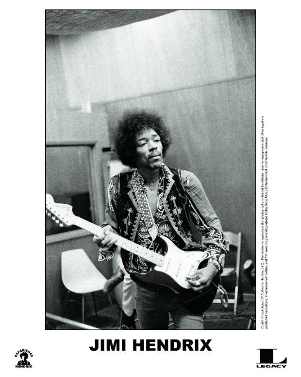 Jimi Hendrix im Studio