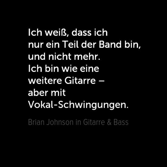 Zitat von Brian Johnson