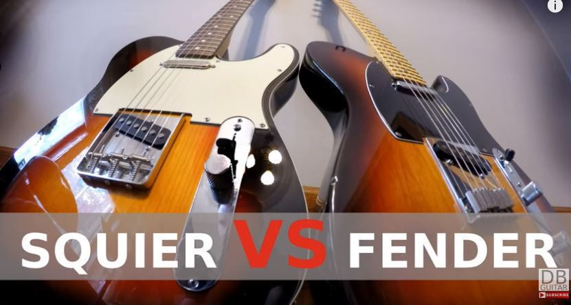 Fender vs. Squier