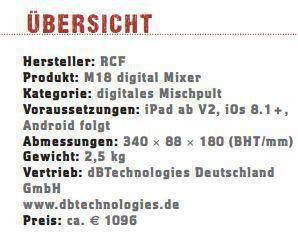 RCF M18_profil