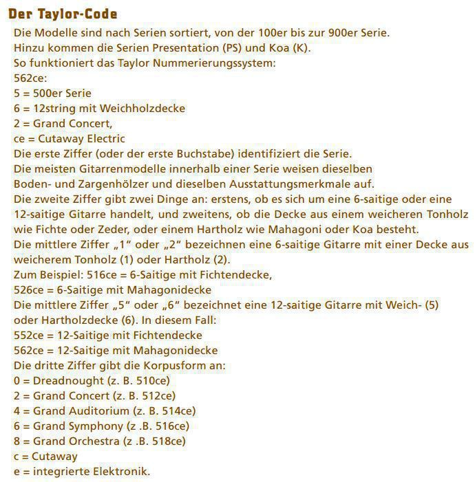 Taylor 562ce_code