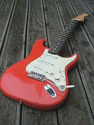 Rote Stratocaster