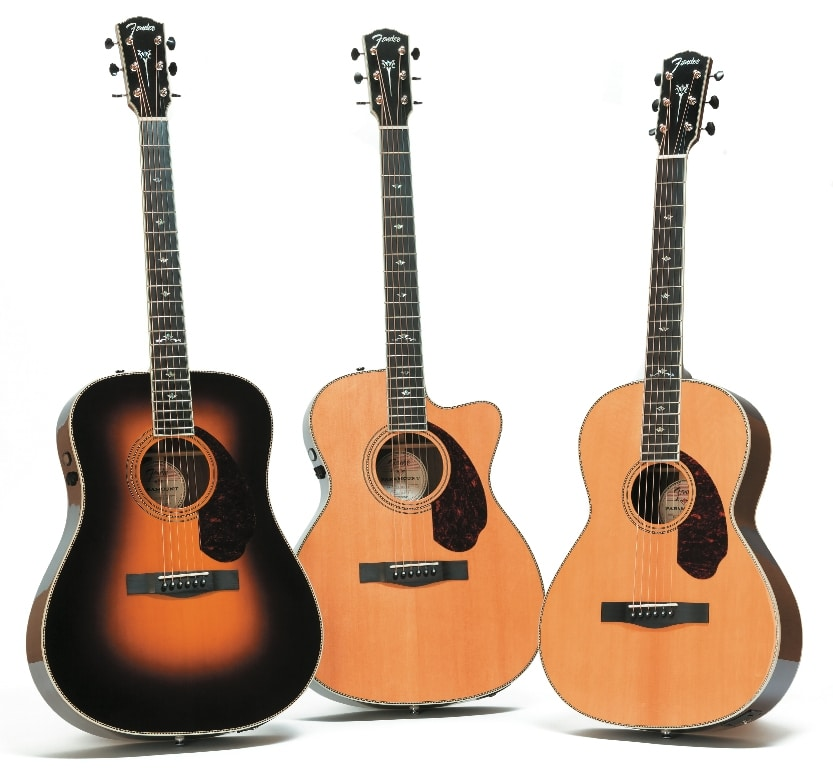 Fender Paramount - alle Modelle (PM-1/PM-2/PM-3 Deluxe )