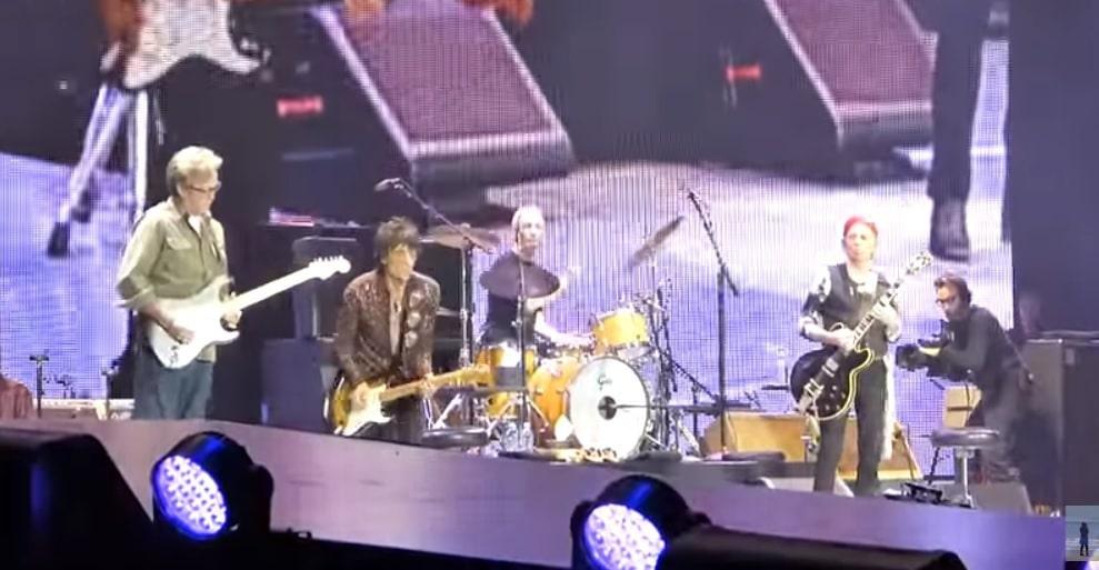 Clapton und die STones