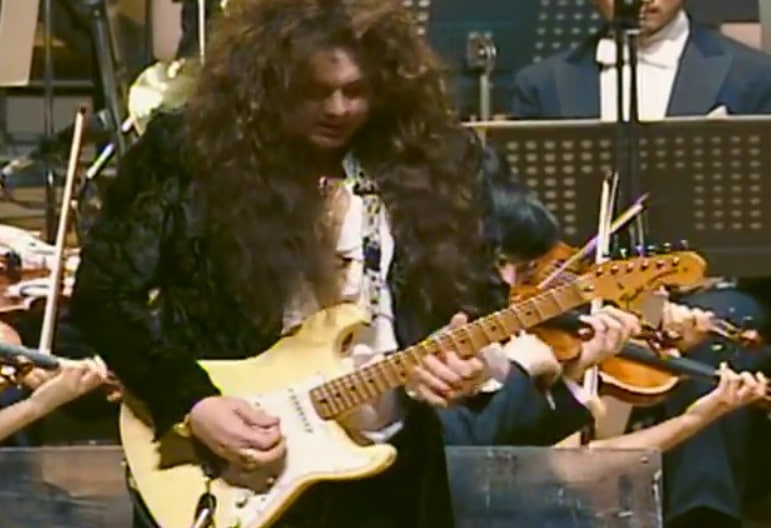 Yngwie Malmsteen in Japan