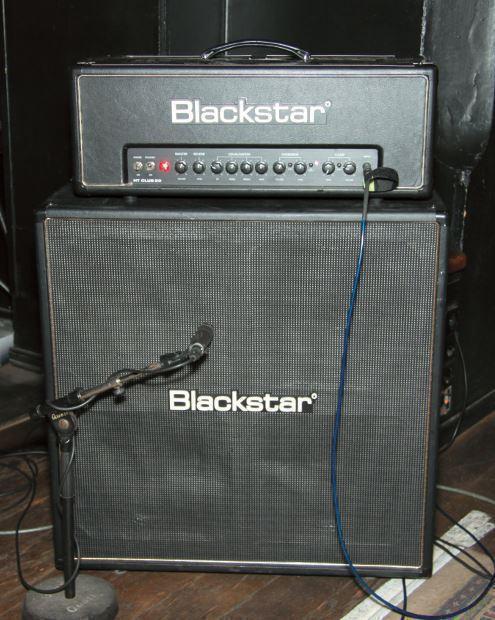 Live-Amp: Blackstar HT Club 50 mit HTV-412 Box
