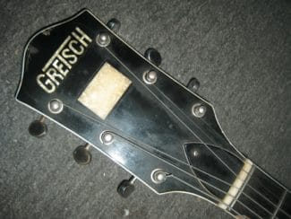 Gretsch-Fälschung - Kopfplatte