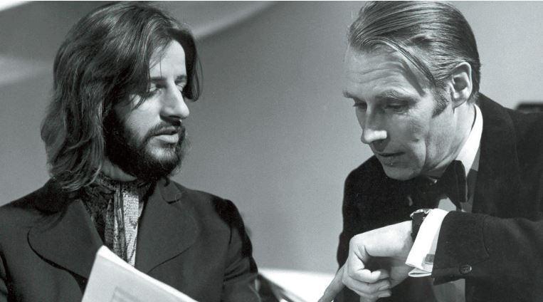 Der legendäre Beatles-Produzent Sir George Martin konnte sogar Schlagzeuger zu Musikern machen.