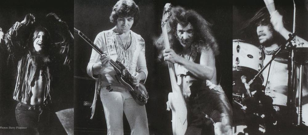 Black Sabbath 1971: Ozzy Osbourne, Tony Iommi, Geezer Butler und Bill Ward