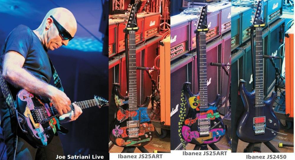 Satriani gitarren